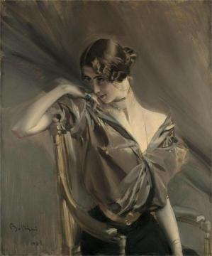 Cleo De Merode Artwork by Giovanni Boldini