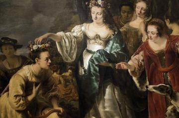 The Crowning of Mirtillo Artwork by Ferdinand Bol