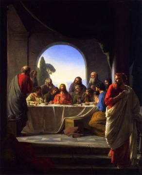The Last Supper Artwork by Carl Heinrich Bloch