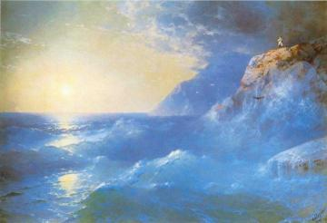 Napoleon On Island Of St. Helen Artwork by Ivan Constantinovich Aivazovsky