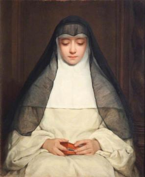A Nun Artwork by Henriette Browne