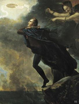 The Baron Rushing into Eternity Artwork by Jacques-Charles Bordier du Bignon