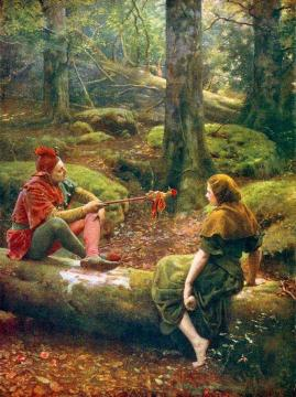 In The Forest Of Arden Artwork by John Maler Collier