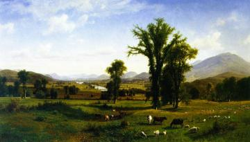 Mount Ascutney From Claremont, New Hampshire Artwork by Albert Bierstadt