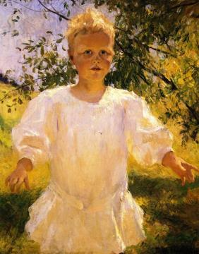 Laddie Artwork by Frank W. Benson