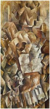 Piano And Mandolin Artwork by Georges Braque