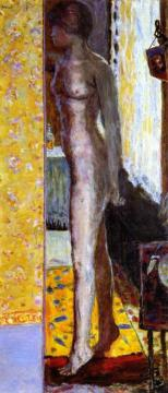 Standing Nude Artwork by Pierre Bonnard