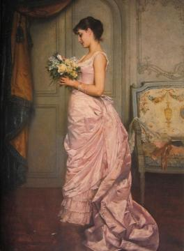 The Letter Artwork by Auguste Toulmouche