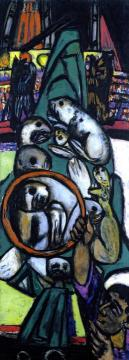 Sea Lions Artwork by Max Beckmann