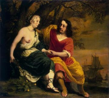 Bacchus and Ariadne Artwork by Ferdinand Bol