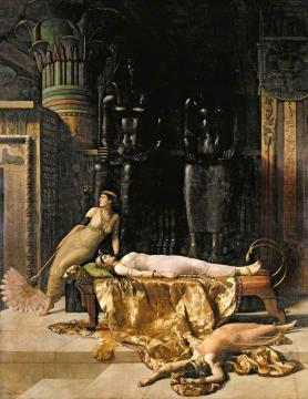 The Death of Cleopatra Artwork by John Maler Collier
