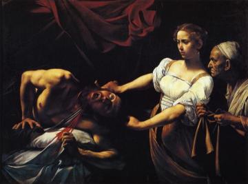 Judith Beheading Holofernes Artwork by Caravaggio