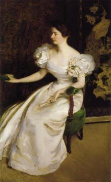 Mrs. Clement B. Newbold Artwork by Cecilia Beaux