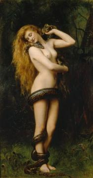 Lilith Artwork by John Maler Collier