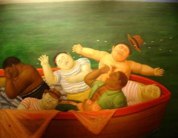 Massacre In Colombia Artwork by Fernando Botero