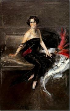 The Marquesa De Pinar Del Rio Artwork by Giovanni Boldini