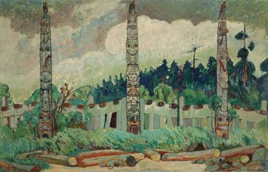 scorned as timber beloved of the sky neko  Tanoo, Queen Charlotte Islands Artwor...