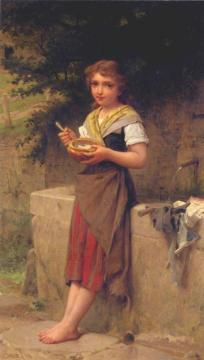 The Young Peasant Artwork by Emile Munier