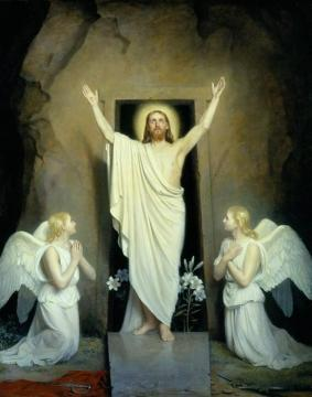 The Resurrection (Opstandelsen) Artwork by Carl Heinrich Bloch
