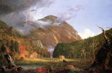 The Notch Of The White Mountains Artwork by Charles De Wolf Brownell