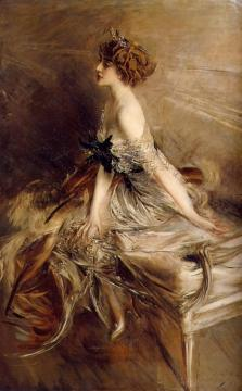 Portrait Of Princess Marthe-lucile Bibesco Artwork by Giovanni Boldini