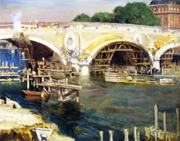 The Bridge Builders Artwork by Alson Skinner Clark