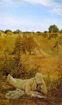Ninety-four Degrees In The Shade Artwork by Sir Lawrence Alma-Tadema