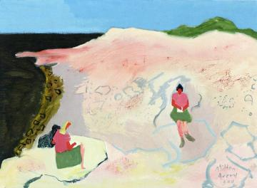 Sketchers By The Sea Artwork by Milton Avery