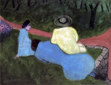 Picnic Artwork by Milton Avery