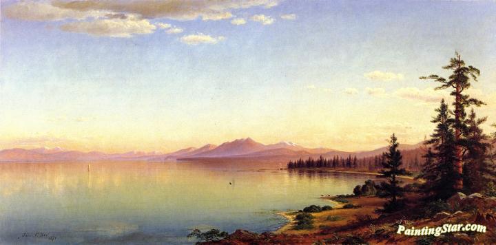 2008 Tahoe For Sale >> Lake Tahoe Artwork By John Ross Key Oil Painting & Art Prints On Canvas For Sale - PaintingStar ...