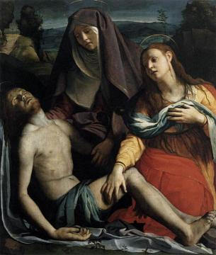Pieta Artwork by Agnolo Bronzino