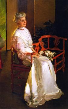Mrs. Richard Low Divine, Born Susan Sophia Smith Artwork by Cecilia Beaux
