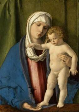 Virgin and Child Artwork by Giovanni Bellini