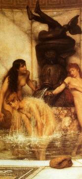 Stirgils And Sponges Artwork by Sir Lawrence Alma-Tadema
