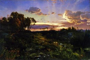 Dusk Wings Artwork by Thomas Moran