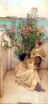 Courtship Artwork by Sir Lawrence Alma-Tadema