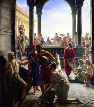 The Wedding At Cana Artwork by Carl Heinrich Bloch