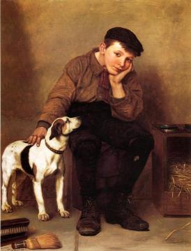 Sympathy Artwork by John George Brown