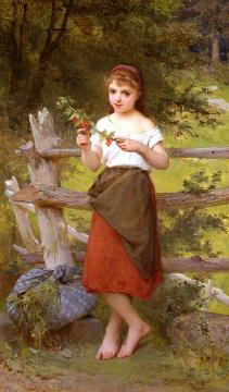 Contemplation Artwork by Emile Munier