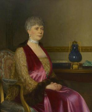 Queen Mary Artwork by Leonard Campbell Taylor