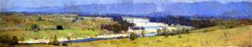 The Hawkesbury River Artwork by Sir Arthur Streeton