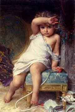 The Broken Vase Artwork by Emile Munier