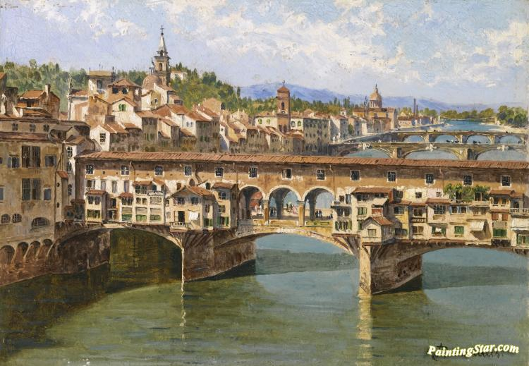 The Ponte Vecchio, Florence Artwork by Antonietta Brandeis