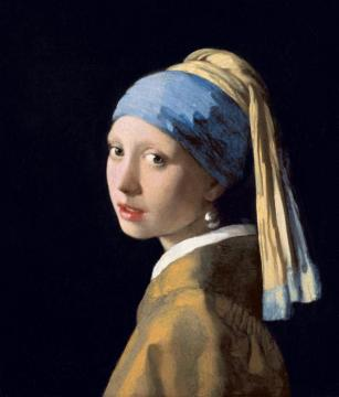 Girl With A Pearl Earring Artwork by Johannes Vermeer