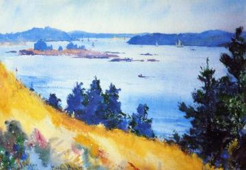 Fox Islands Thoroughfare, Maine Artwork by Frank W. Benson