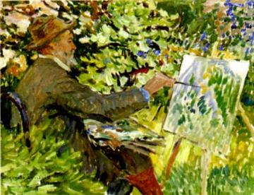 Artist at the Easel Artwork by Nikolai Petrovich Bogdanov-belsky