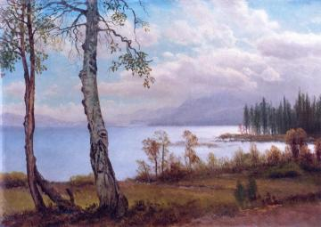 Lake Tahoe Artwork by Albert Bierstadt