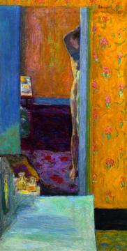 Nude In An Interior Artwork by Pierre Bonnard