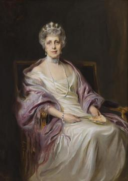Portrait Of Mrs. Robert Livingston Fryer Artwork by Philip Alexius de Laszlo