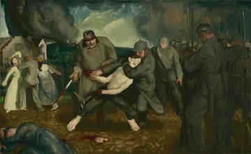 The Germans Arrive Artwork by George Wesley Bellows